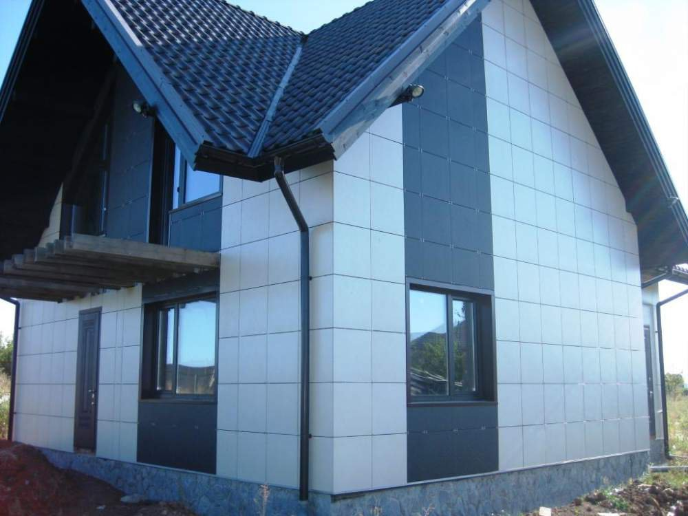 Использование керамогранита для отделки фасадов