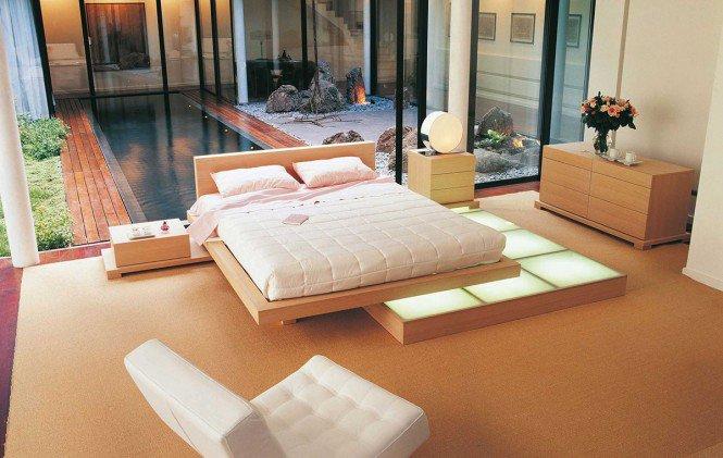 Дизайны спален от компании Rocho Bobois