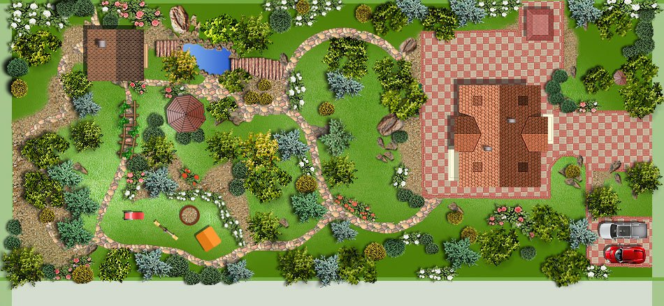 Первые шаги в ландшафтном дизайне: составление проекта