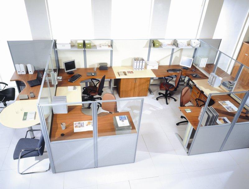 Офисные перегородки — оптимизация рабочего пространства