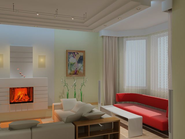 Проектирование внутренних помещений дома
