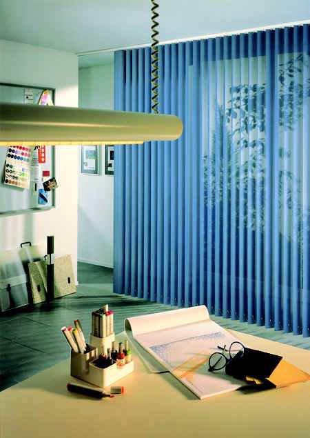 Изюминка в интерьере – вертикальные жалюзи
