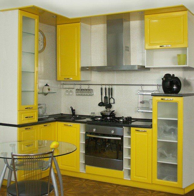 Правила обустройства интерьера малогабаритной кухни