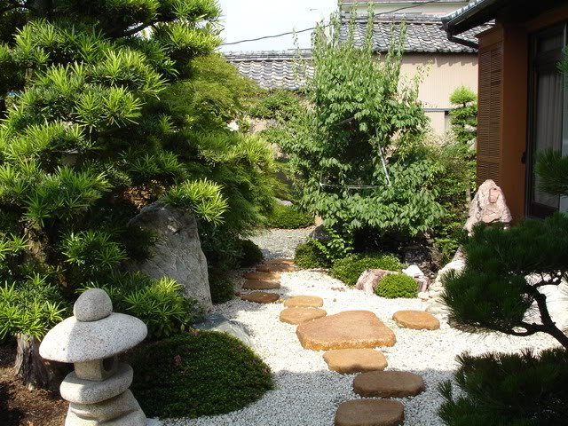 Секреты оформления сада в китайском стиле. Продолжение 3