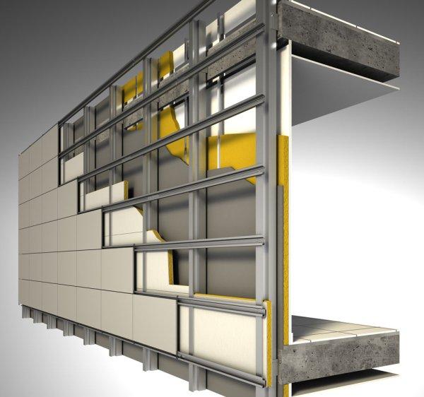 Вентилируемые фасады: виды подсистем и способы крепления. Продолжение