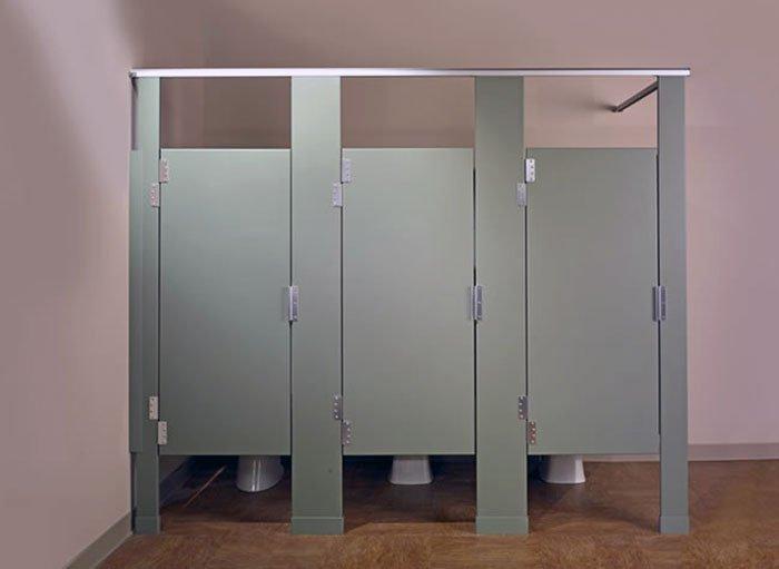 Особенности сантехнических перегородок
