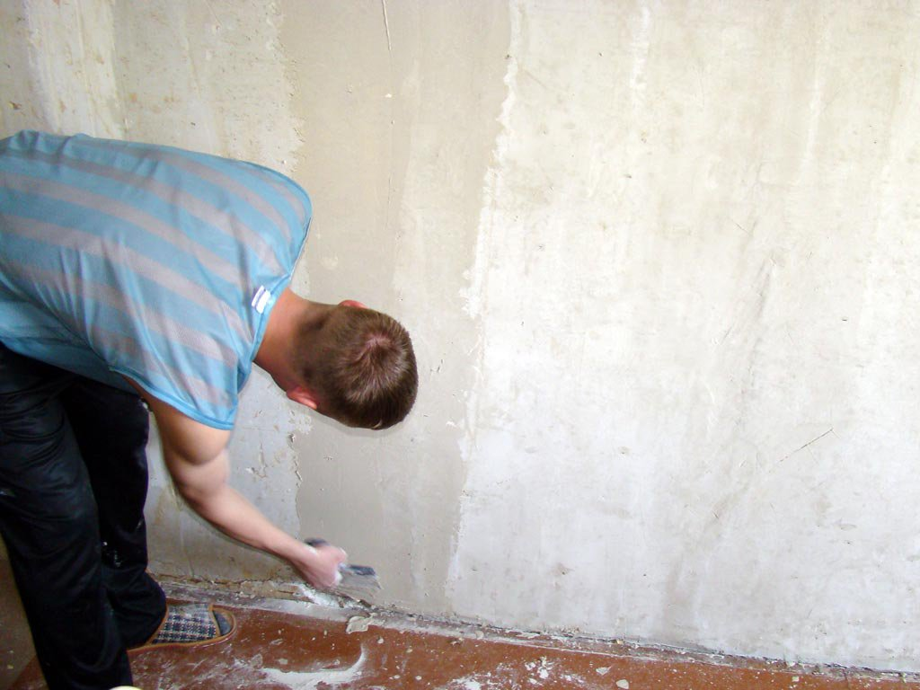 Подготовка стен под поклейку обоев. Инструкция