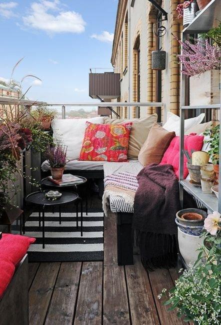 Превращение балкона в летнюю резиденцию!