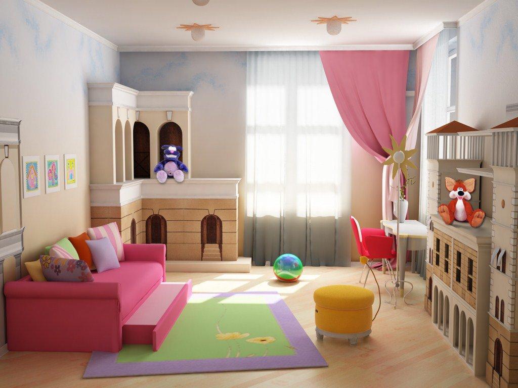 Создаем дизайн интерьера детской комнаты