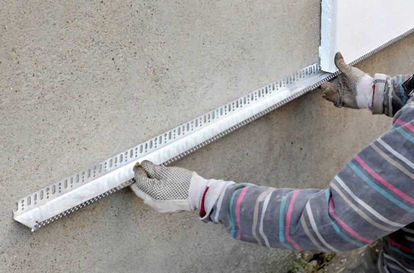 утепление стен, фасадов пенопластом Киев