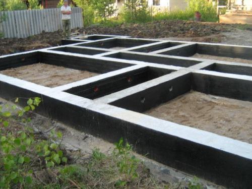 Гидроизоляция фундамента: способы и материалы