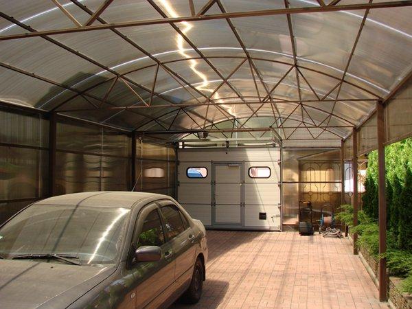 Использование поликарбоната в строительстве