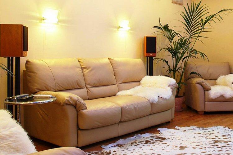 Кожаные диваны и их качественные характеристики