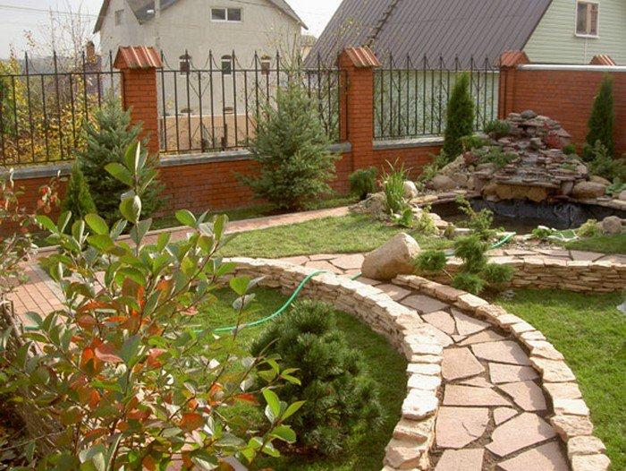 Красивый сад – заслуга ландшафтного