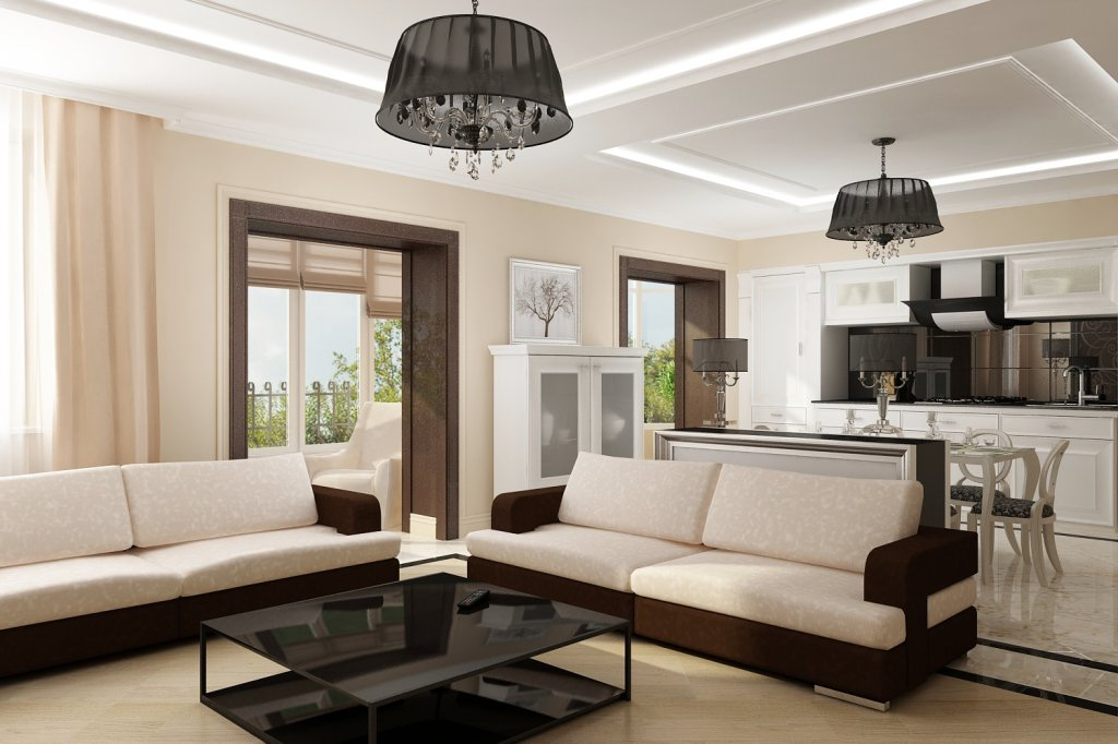 Выбираем стиль интерьера гостиной