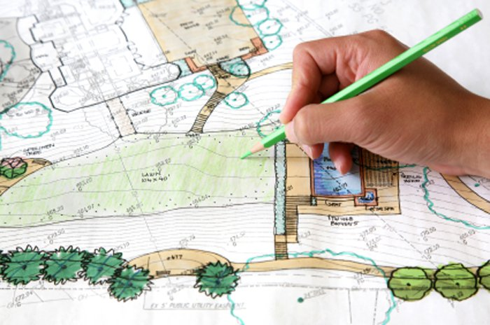 Ландшафтное проектирование собственного сада