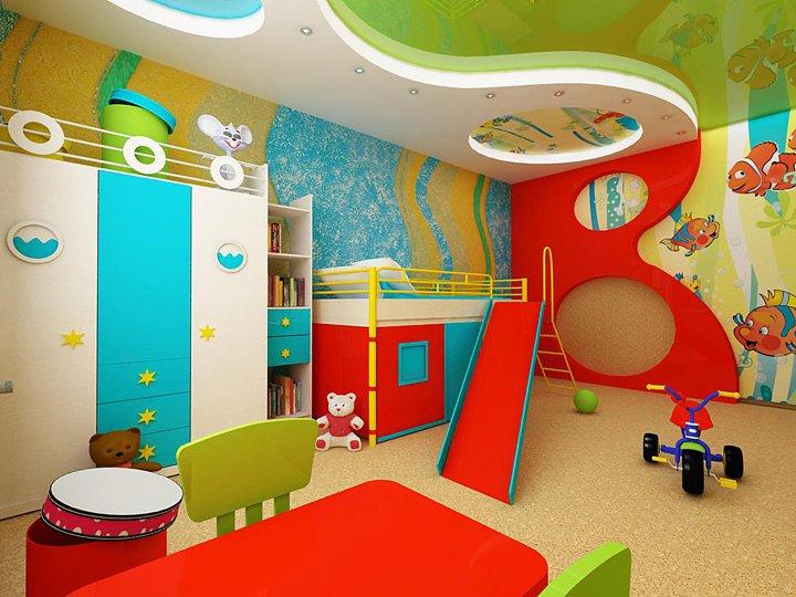 Обои для детской комнаты