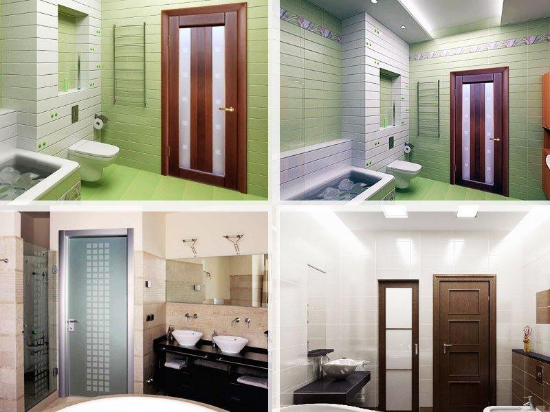 Выбираем двери для ванной и туалета