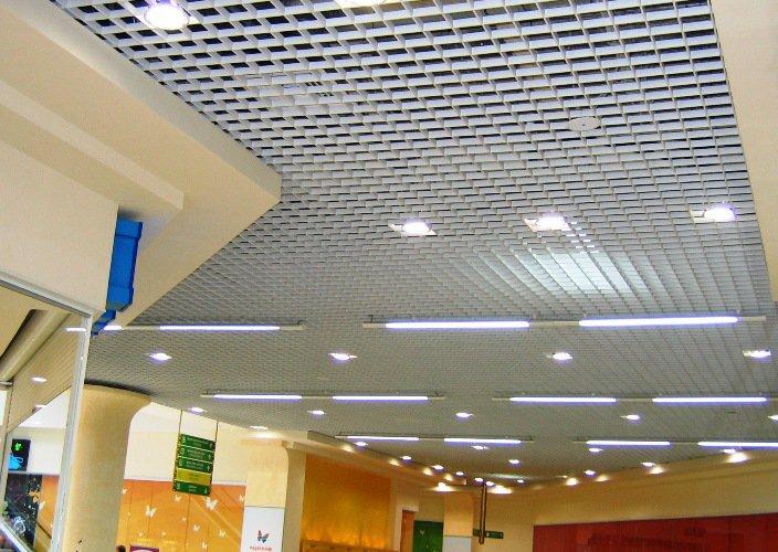 Потолки подвесные: виды, стоимость, монтаж. Продолжение