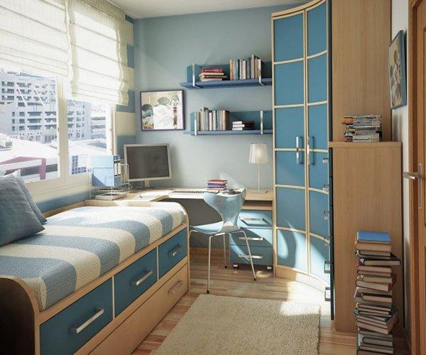 Дизайн детской комнаты для подростка: выбор мебели