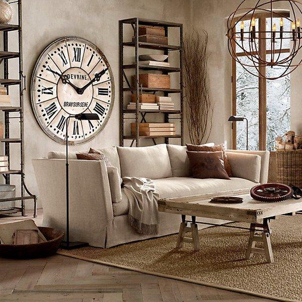 Часы в современном интерьере