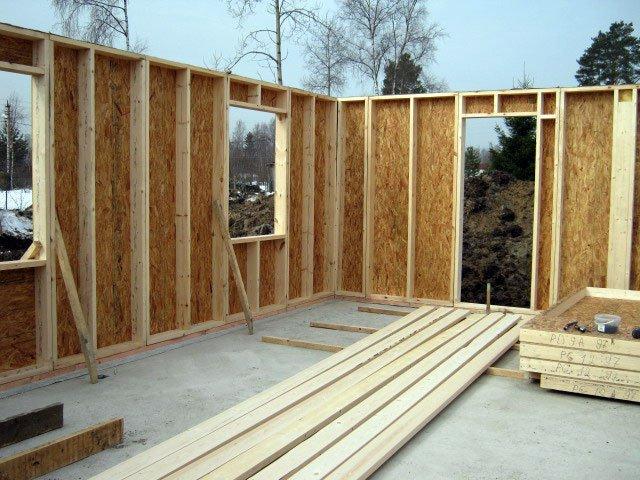 Поэтапное строительство каркасного дома своими руками с фото