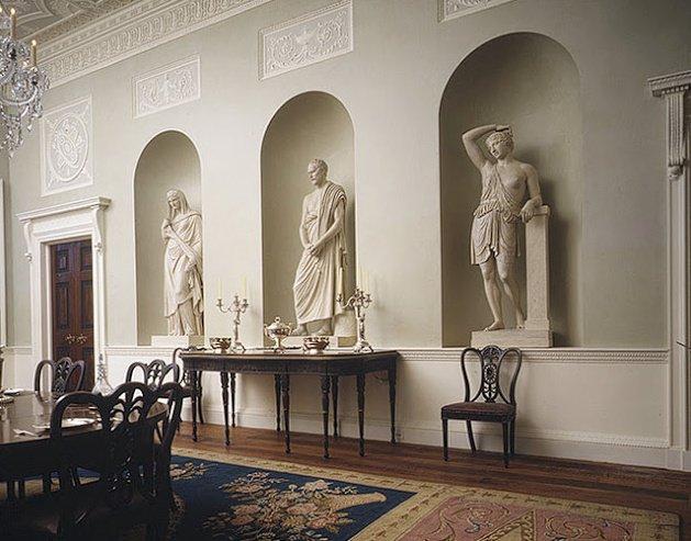 Что такое античный стиль в дизайне интерьера?