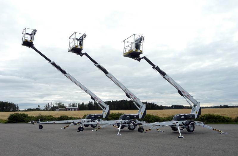 Выбираем телескопические подъемники прицепного типа и рассматриваем другие варианты