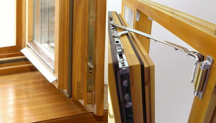 Деревянные окна со стеклопакетом: правила выбора