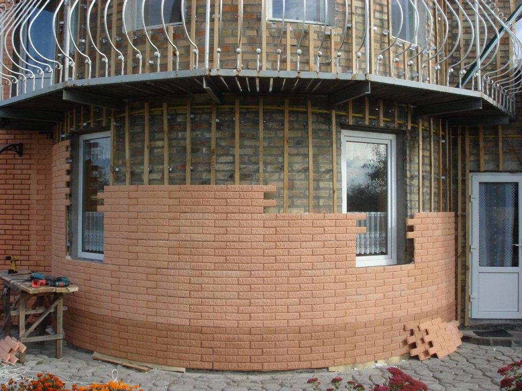 Фасадная плитка – особенности и разновидности