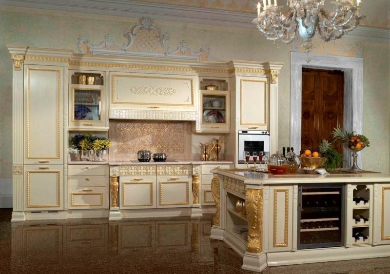 Итальянские кухни в современном интерьере