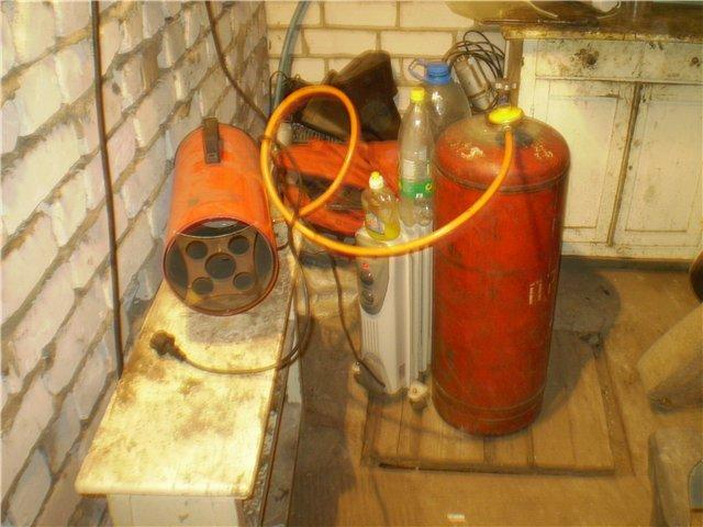 Способы отопления для гаража