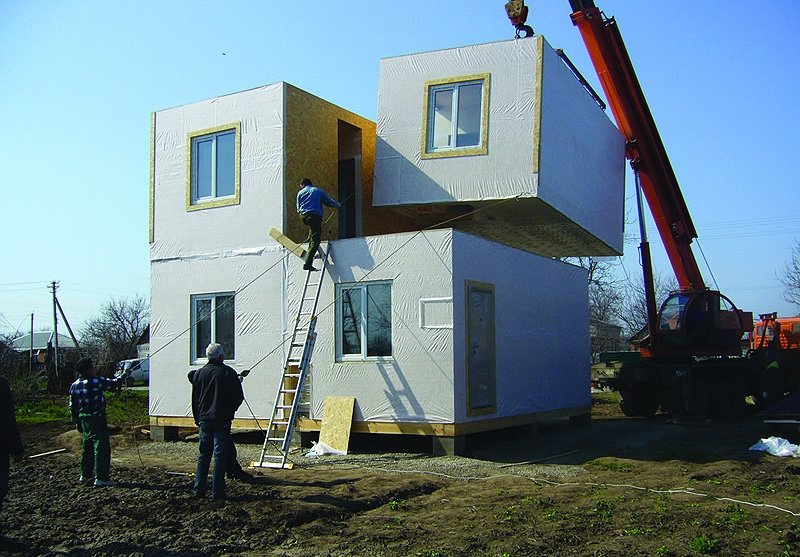 Наружная и внутренняя отделка модульных домов