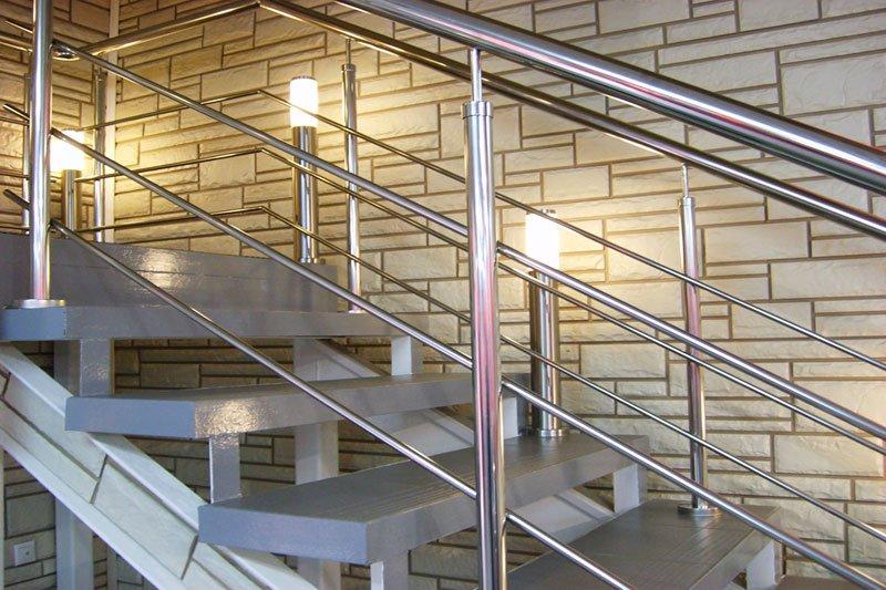 Перила для лестниц из нержавеющей стали