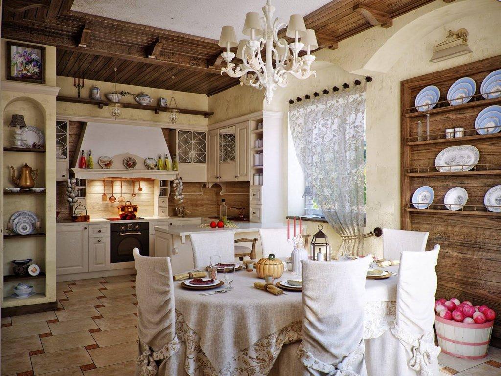 Дизайн виллы в Средиземноморье в «русском» стиле