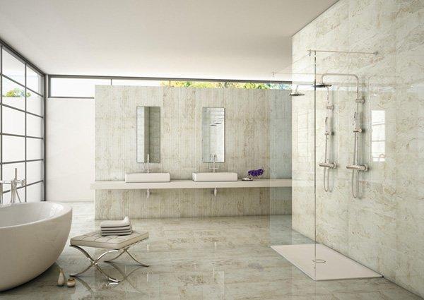 Плитка из мрамора: от ресторанов до ванных комнат