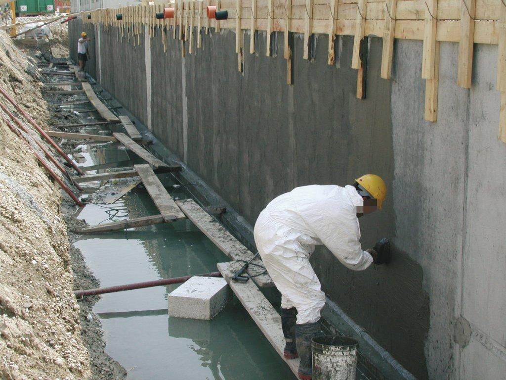 Виды обмазочной гидроизоляции