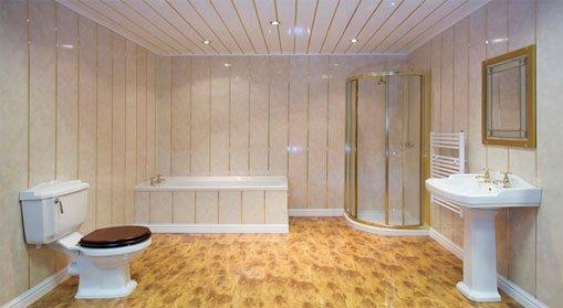 Устанавливаем ПВХ–панели на потолок: советы от мастера