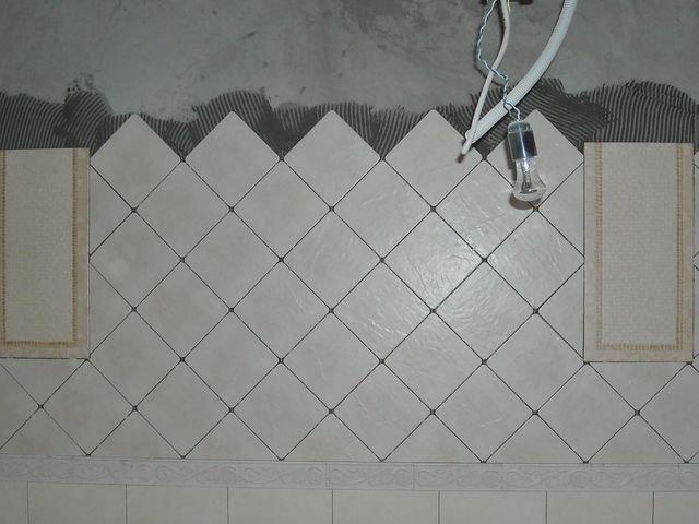 Укладка на стену керамической плитки: три способа