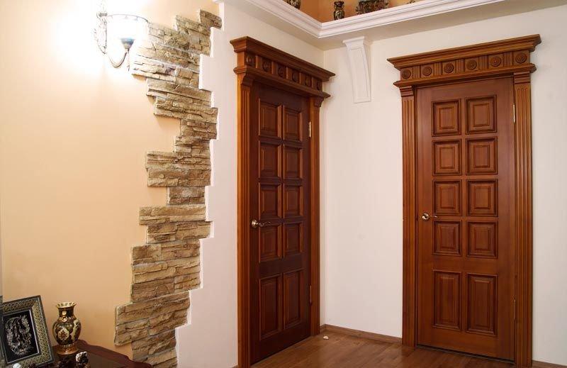 Межкомнатные двери из массива - производство