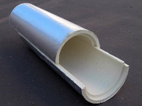 Теплоизоляция труб пенополиуретаном