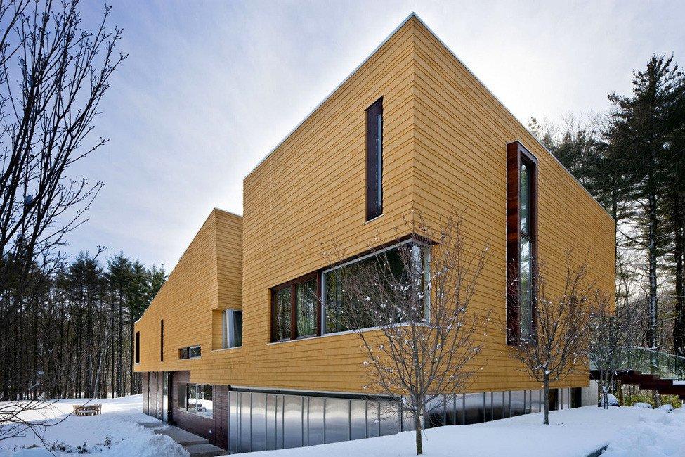 Дизайн домов из сэндвич панелей