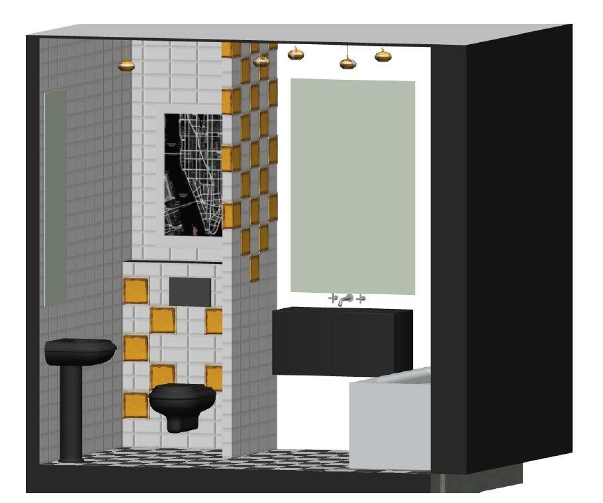 Проект 2х комнатной квартиры -  «Свидание с Нью-Йорком»