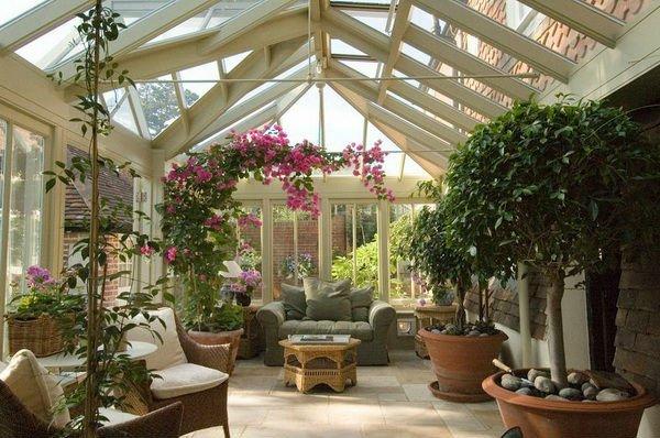 Как построить зимний сад?