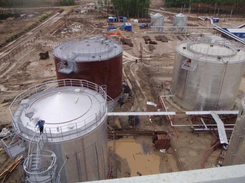 Правила устройства монолитного фундамента для нефтяного резервуара. Продолжение