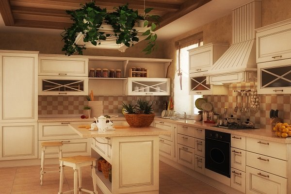 84 White Kitchen Interior Designs with Modern Style