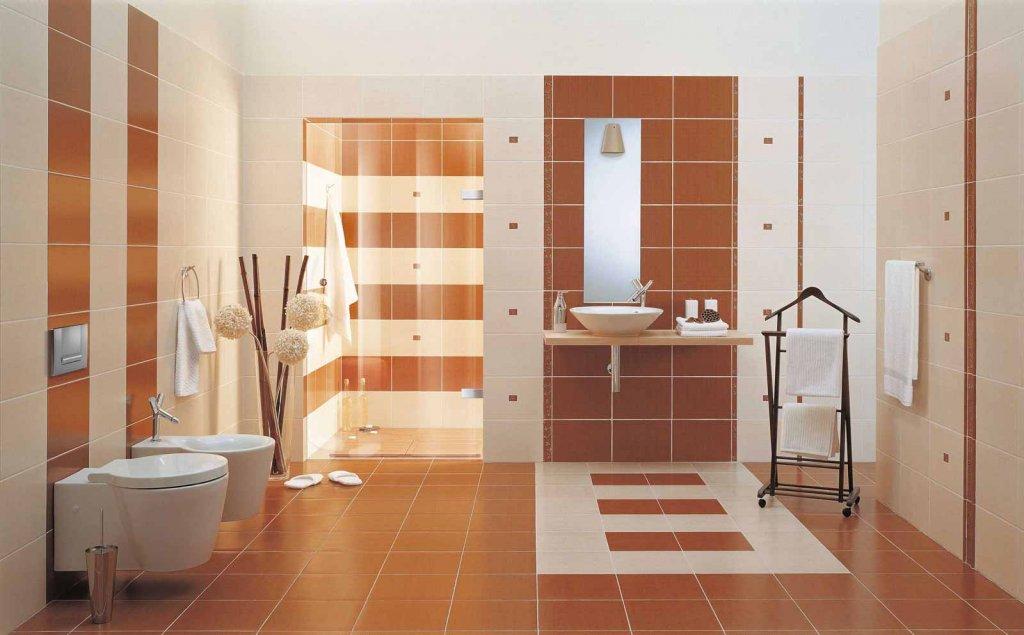Индивидуальность ванной комнаты. Выбираем плитку