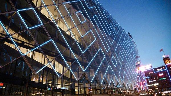 Светодиодные фасады - украшение современного города