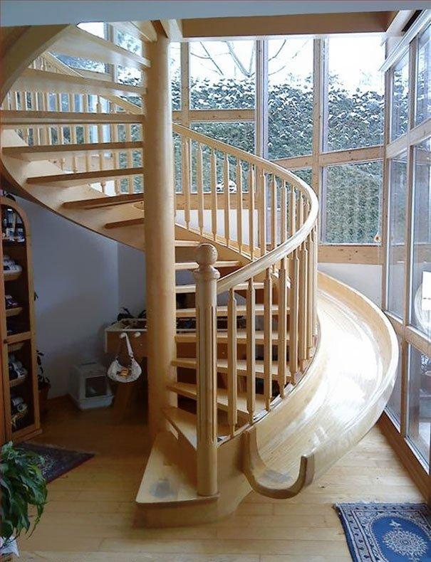 Индивидуальному дому индивидуальную лестницу