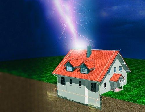 Как защитить свой дом от пожара: молниезащита